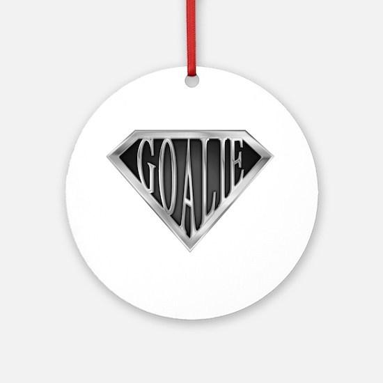 SuperGoalie(metal) Ornament (Round)