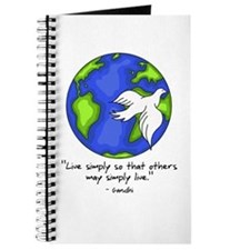 World Gandhi - Live Simply Journal