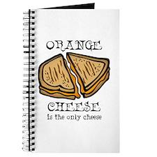 Orange Cheese Journal