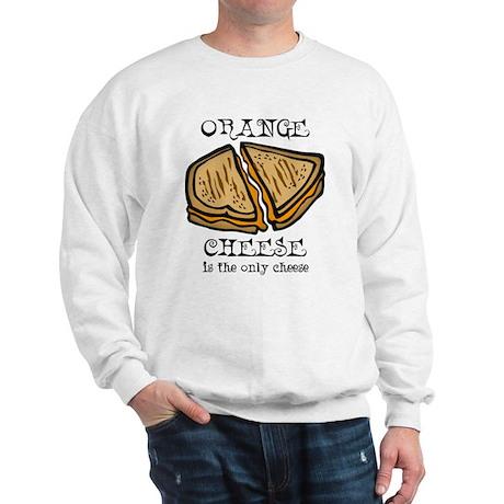 Orange Cheese Sweatshirt