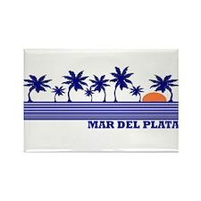 Mar del Plata Rectangle Magnet
