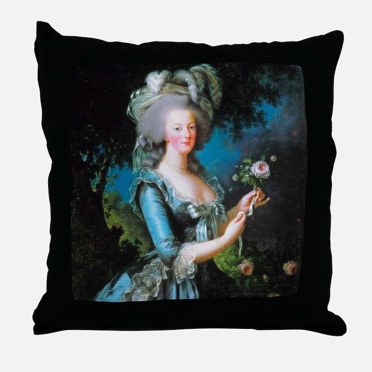 Vigée-Lebrun - Marie-Antoinette Throw Pillow