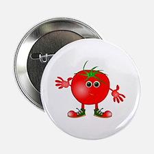 """happy tomato 2.25"""" Button (10 pack)"""