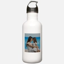 Your Photo Here Water Bottle