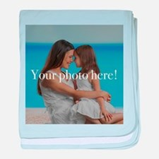 Your Photo Here baby blanket