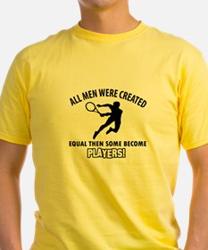 Tennis Players Designs T