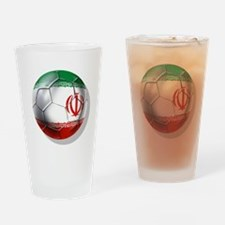 Iran Soccer Ball Drinking Glass