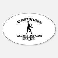 Squash Players Designs Decal