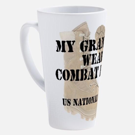 Cute National guard 17 oz Latte Mug