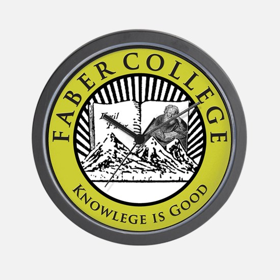 Faber College Wall Clock