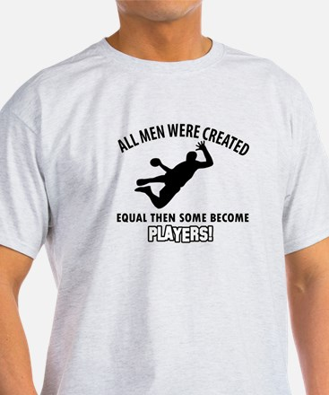 Handball Players Designs T-Shirt