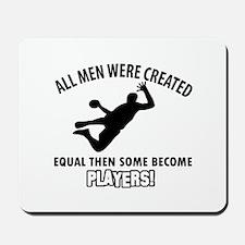 Handball Players Designs Mousepad