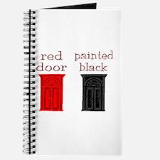 red door painted black Journal
