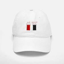 red door painted black Baseball Baseball Cap