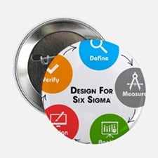 "Design for Six Sigma (DFSS) 2.25"" Button (10 pack)"
