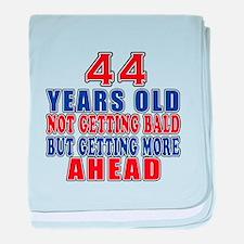44 Getting More Ahead Birthday baby blanket