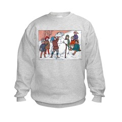1930's Snow Fun #5 Sweatshirt