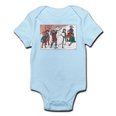 1930's Snow Fun #5 Infant Bodysuit