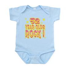 52 Year Olds Rock ! Infant Bodysuit