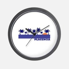 Placencia, Belize Wall Clock