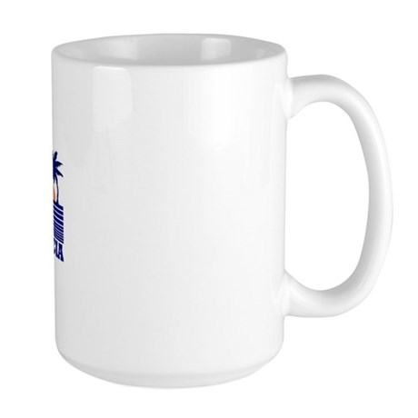 Placencia, Belize Large Mug