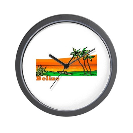 Belize Wall Clock