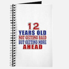 12 Getting More Ahead Birthday Journal