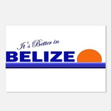 Its Better in Belize Postcards (Package of 8)