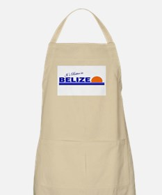 Its Better in Belize BBQ Apron