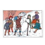 1930's Snow Fun #5 Postcards (Package of 8)