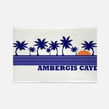 Ambergis Caye, Belize Rectangle Magnet