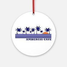 Ambergis Caye, Belize Ornament (Round)