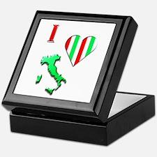 I Love Italy 2 Keepsake Box