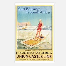 Vintage Surfing Surfer Postcards (Package of 8)