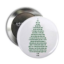 """""""I Am A Tree"""" 2.25"""" Button (10 pack)"""