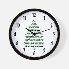 """""""I Am A Tree"""" Wall Clock"""