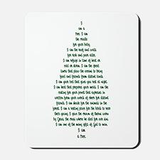 """I Am A Tree"" Mousepad"