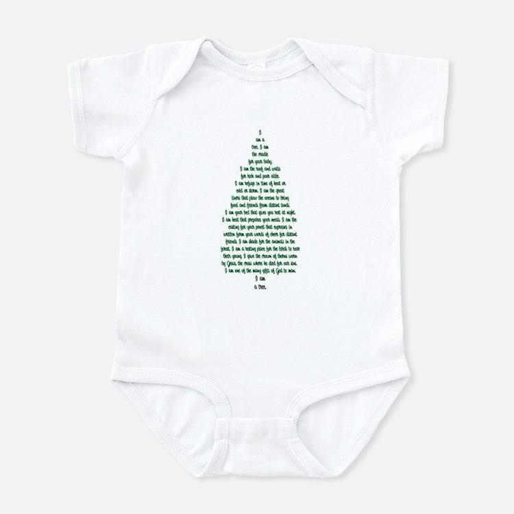 """I Am A Tree"" Infant Bodysuit"