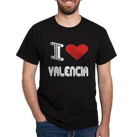 I Love Valencia City T-Shirt