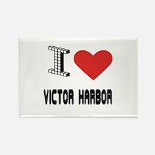 I Love Victor Harbor City Rectangle Magnet