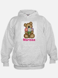 Marissa's Bouquet Bear Hoodie