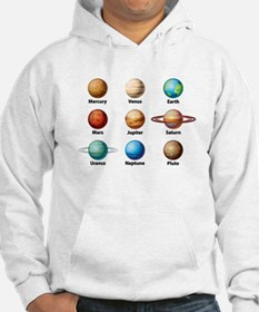 Planets Of The Solar System Hoodie