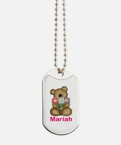Mariah's Bouquet Bear Dog Tags
