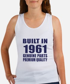 Built In 1961 Women's Tank Top