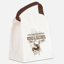 Cute Sprint car Canvas Lunch Bag
