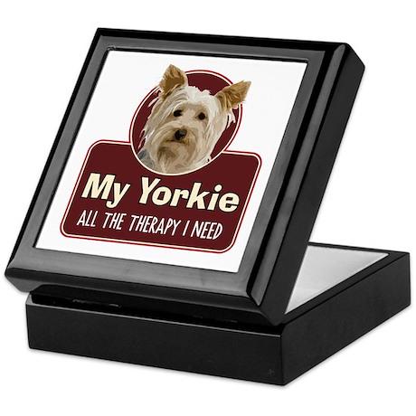 Yorkie Therapy - Keepsake Box