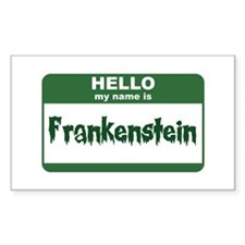 Frankenstein Rectangle Decal