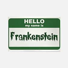Frankenstein Rectangle Magnet