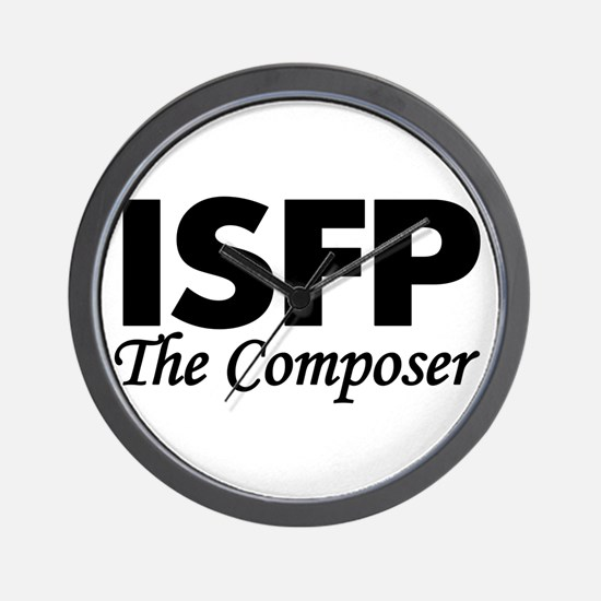 ISFP | The Composer Wall Clock