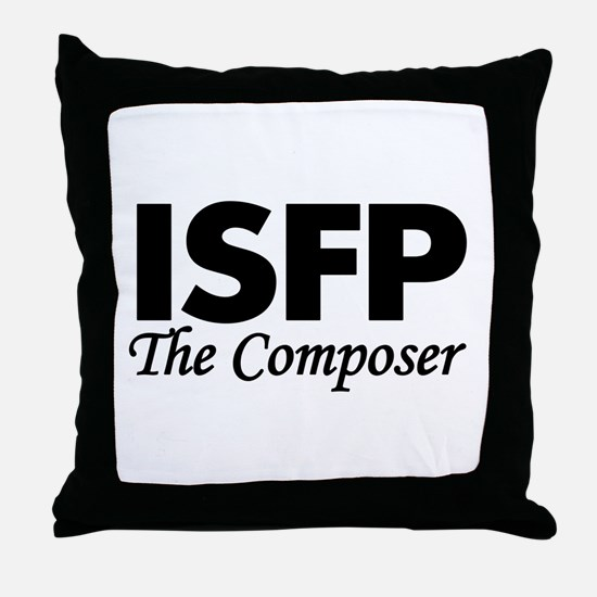 ISFP | The Composer Throw Pillow